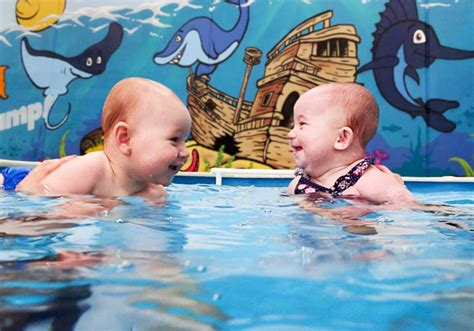 Teaching Baby To Swim In Bathtub by Swimming Lessons For Babies And Toddlers Ducks Jump