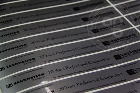 Aufkleber Drucken Lassen Silber by Silber Aufkleber Kratzfest Aufkleber Produktion De