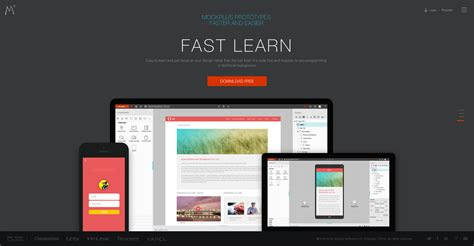 web software 25 free mockup and wireframe tools for web designers