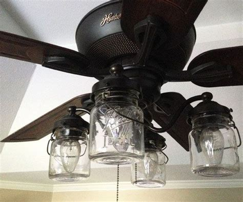 ceiling fan with jar lights best 25 farmhouse ceiling fans ideas on