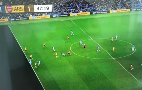 arsenal offside does this picture prove leroy sane was offside for