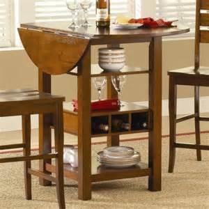 Drop Leaf Dining Table With Storage Ridgewood Counter Height Drop Leaf Dining Table With