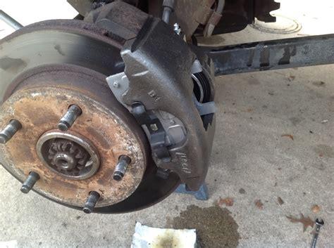 Diy Repair Front Brake diy front brakes and caliper replacement dodgeforum