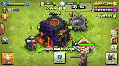 mod game coc gems clash of clans universal unlimited mod hack v6 407 2 apk