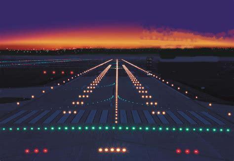 airport lights charles de gaulle international airport