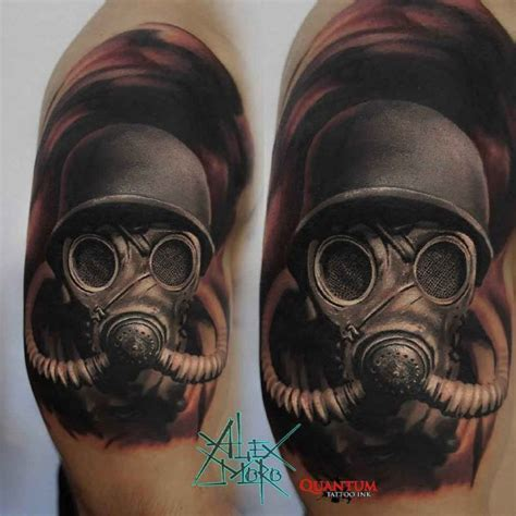 gas mask tattoo gas mask design best ideas gallery