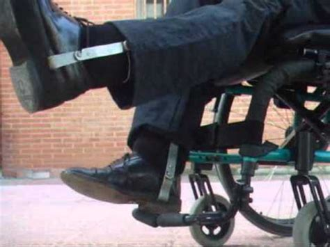 one leg wheelchair wheelchair leg braces