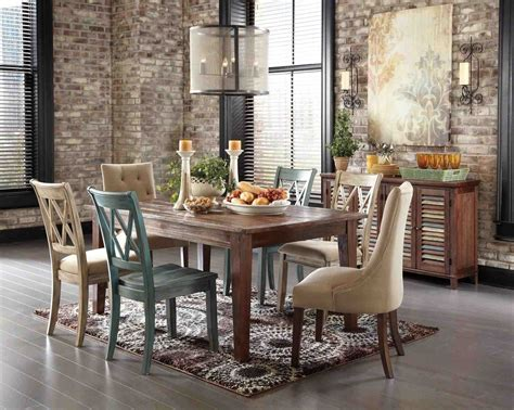 country breakfast table dining ideas image rustic chic dining room wall decor temasistemi net