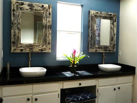 rustic vanity mirrors for bathroom photo page hgtv