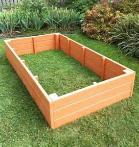 plastic raised garden beds recycled plastic raised garden bed 3 x 6 x 11