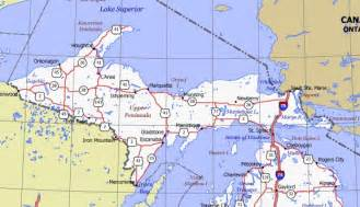 Map Of Up Michigan by Similiar Map Of Upper Peninsula Mi Keywords