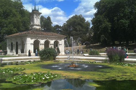 Hyde Park Gardens by Zdj苹cia Hyde Park Italian Gardens Londyn Relaks Anglia