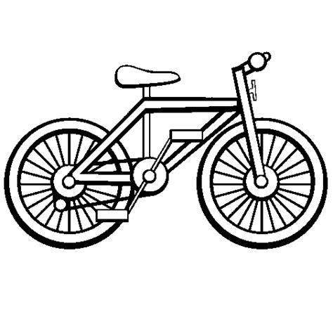 Bike Coloring Page Bike Colouring Pages