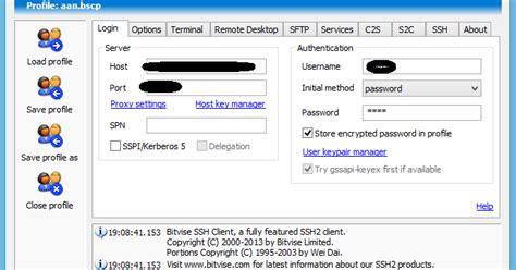 share cara membuat akun ssh gratis di white vps cara menggunakan akun ssh dengan bitvise dan proxyfier
