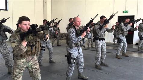 usaf security forces training youtube