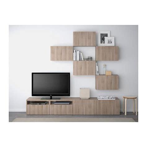 besta walnut best 197 tv storage combination lappviken walnut effect