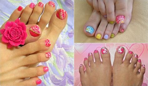 imagenes de uñas decoradas delos pies u 241 as de los pies decoradas