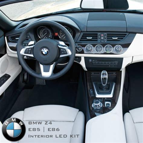 bmw interior led bmw led package kits bmw z4 e85 e86 complete interior