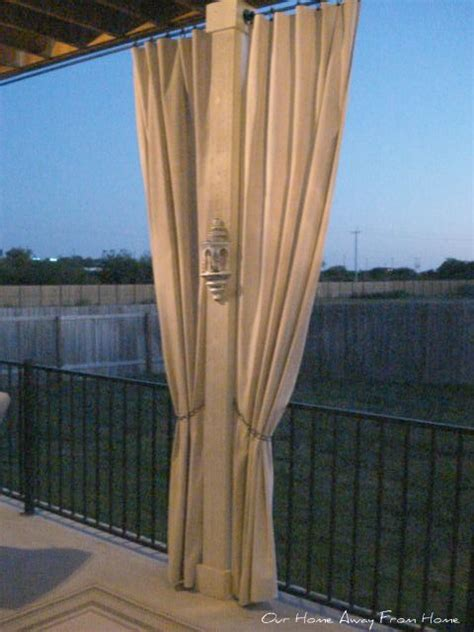 canvas drop cloths for outdoor curtains 17 best images about sewing projects on pinterest duvet