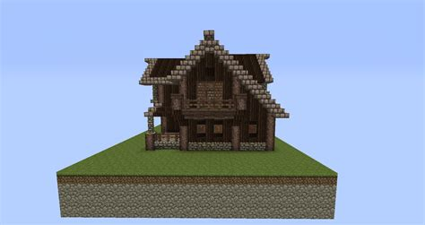 Blueprints To Build A House Medieval House By Yowsky Forum Minecraft Italia