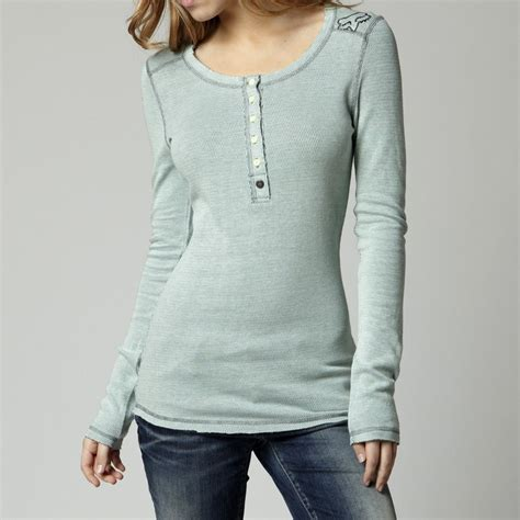 long sleeve thermal shirts for women 39 50 fox racing womens exhilarate long sleeve thermal