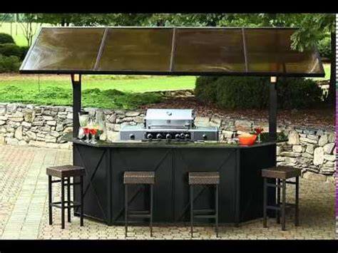 backyard bar bq barbeque gazebo bbq lights hardtop steel stools backyard