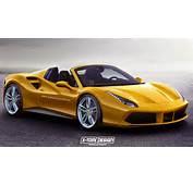 Home Supercar News Ferrari Impending 488 GTB Spider Imagined