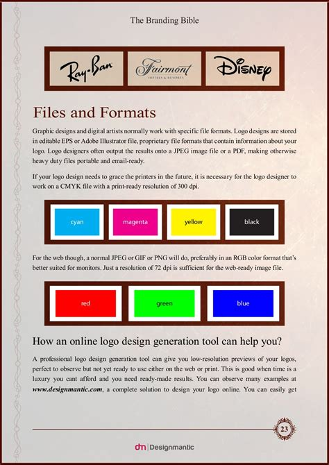 newspaper layout explained the branding bible logo design explained designtaxi com