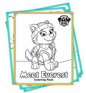 You can get the paw patrol everest coloring pages here you can get