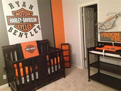 harley davidson bedroom ideas 18 best harley davidson nursery images on pinterest baby