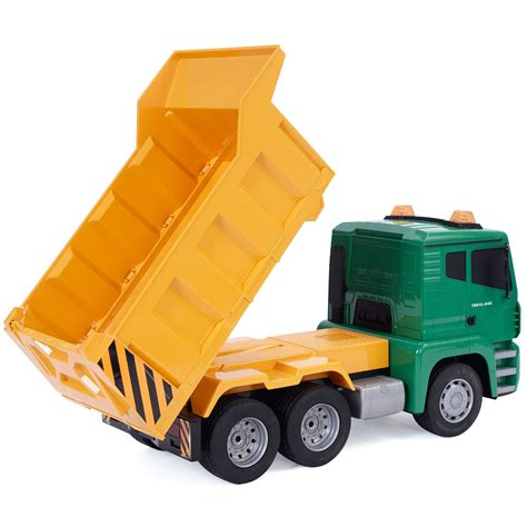 remote trucks 1 18 5ch remote rc construction dump truck