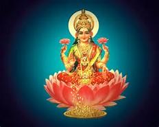 Hindu God Lakshmi