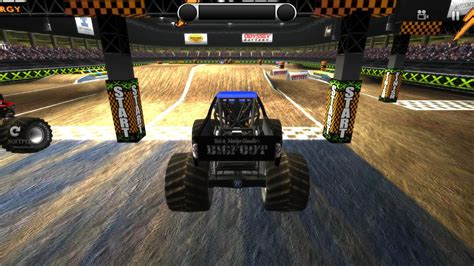 monster truck video games play cyberspace truck adventure to invigorate yourself