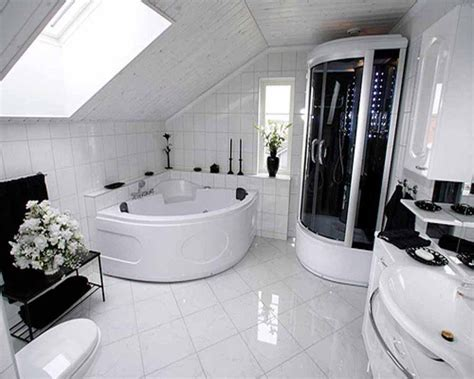 Modern Bathroom Idea - all white bathroom ideas thelakehouseva