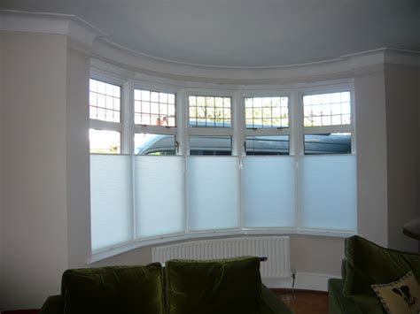 Window Treatments Bow Windows changing curtains highgate north london bottom up blinds quot