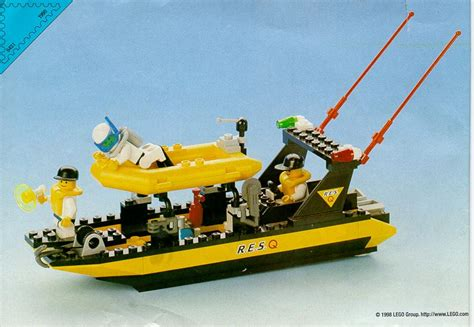 lego boat rescue lego resq boat instructions 6451 resq