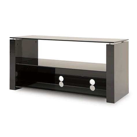 black high gloss tv bench techlink bench series high gloss black tv stand for