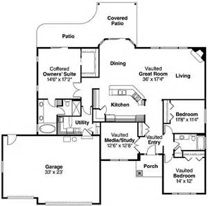 Single Level Ranch House Plans Spacious Single Level Home 72551da 1st Floor Master