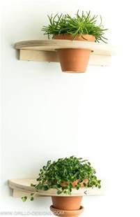 ikea planter hack diy a pair of cute plant shelves ikea hackers ikea hackers