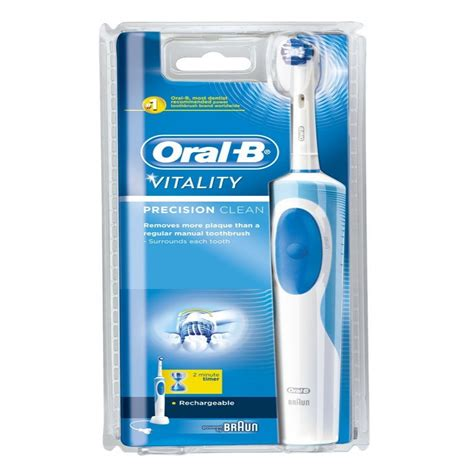 B Vitality Precission Clean Rechargeable Toothbrush braun b vitality precision clean rechargeable