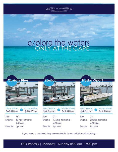 boat rental eleuthera marinas in the bahamas cape eleuthera resort and marina