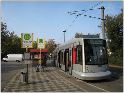 dã sseldorf ratingen die stra 223 enbahnlinie 712 der rheinbahn verbindet