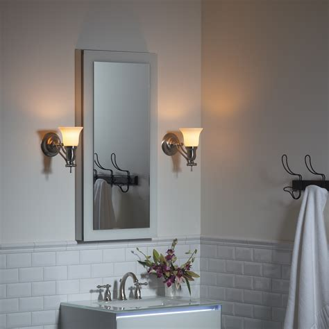 robern inline lighting bathroom lighting robern