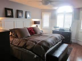 Images Of Bedrooms by Master Bedroom Wainscoting Completely Type A