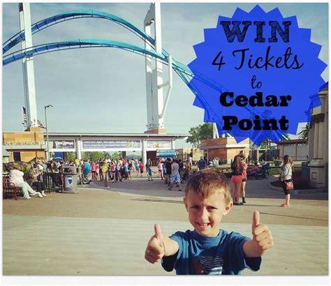 Cedar Point Giveaway - 4 pack cedar point ticket giveaway