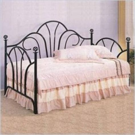 Wrought Iron Daybed Black Wrought Iron Day Bed Ideas Guest Room