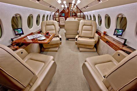 Falcon 900 Interior by Falcon 900 Carte Blanche
