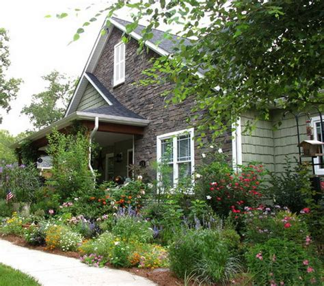 Cottage Gardens Ideas Pretty Front Cottage Gardening Ideas Farmhouse