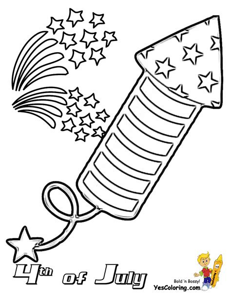 patriotic 4th of july coloring pages july 4th free