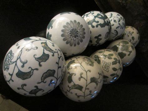 Decorative Ceramic Balls Sale by Modernist Ceramic Decorative Balls For Sale Antiques